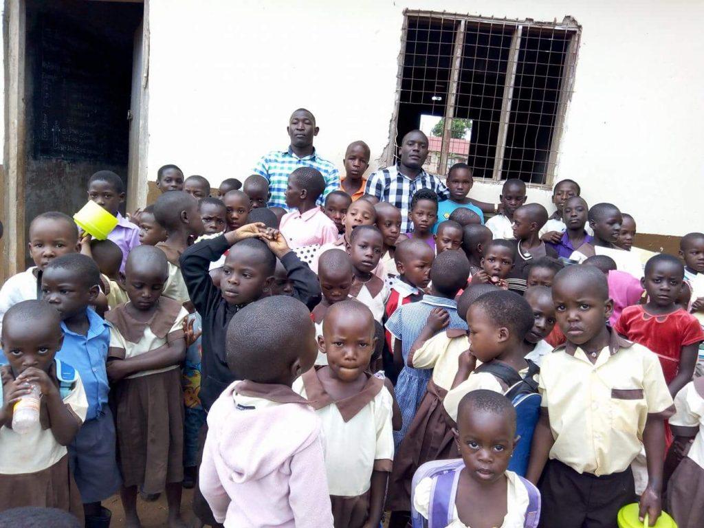 Children Standing Outside
