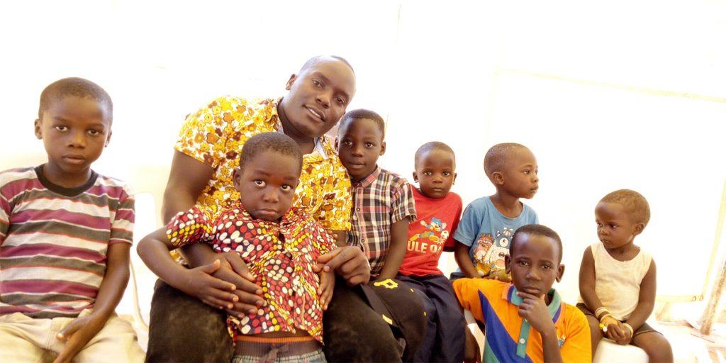 children and preacher